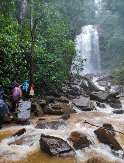 Hidlumane Falls, Kodachadri Peak