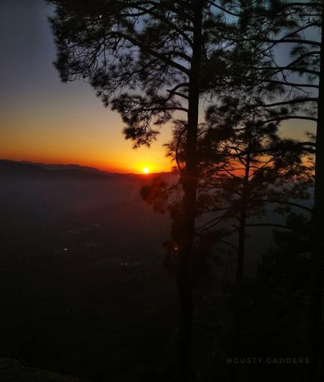 Sunset at Kasar