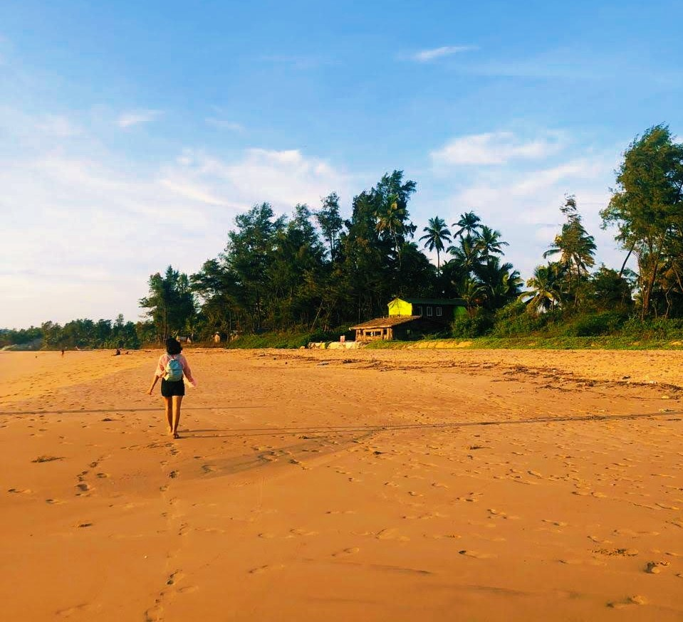Middle Beach, Trippr Hostel, Gokarna