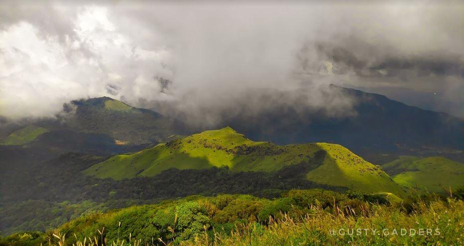 View from Tadiandamol Peak
