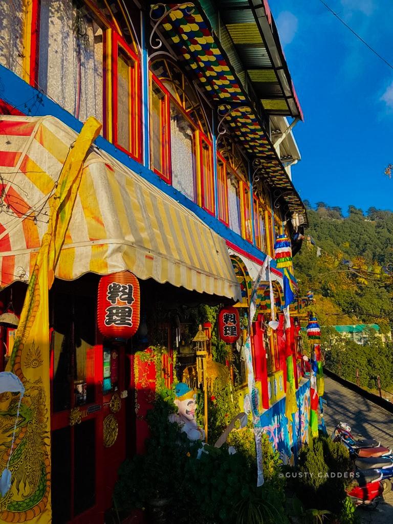Colorful Building of Doma's Inn, Landour