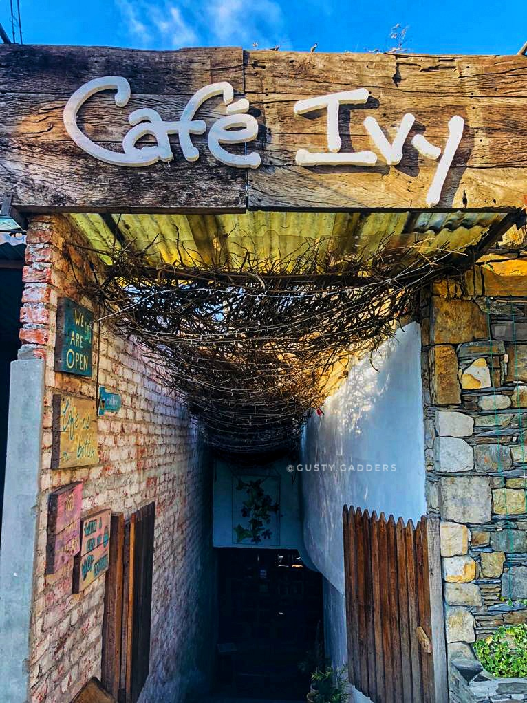 Entrance Door of Cafe Ivy, Landour
