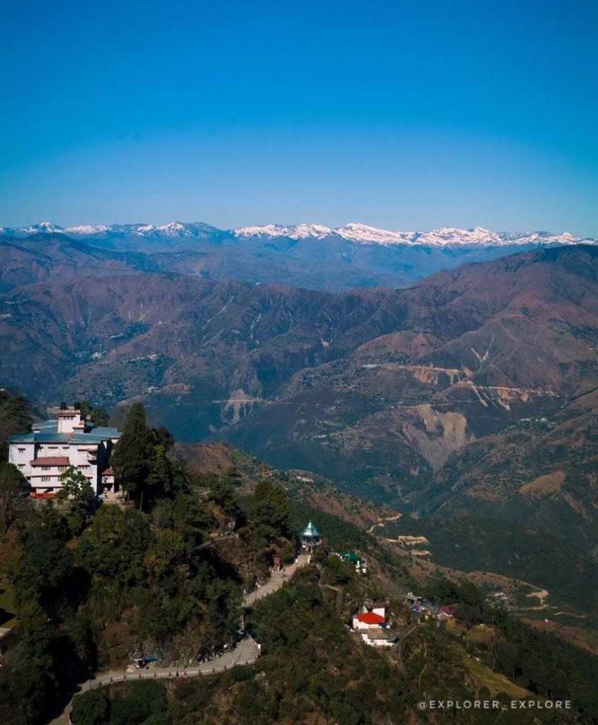Beautiful views of Landour