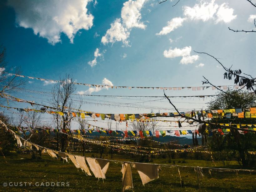 Prayer Flags in Bir Billing