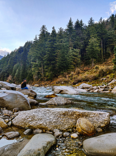 Barot Valley is full of serenity.