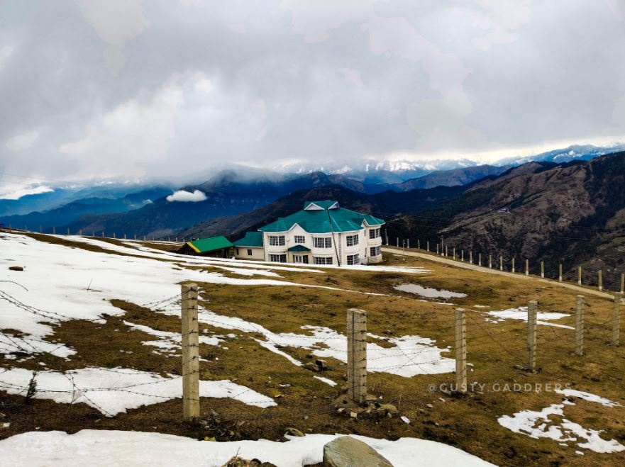 PWD Guest house near Prashar Lake