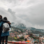 WhBeauty of Rewalsar and in between those Sikandara-Dhar ranges.