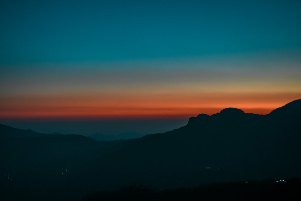 Sunset View in Kanatal